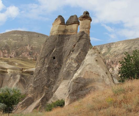 Пашабаг в Каппадокии - место подвигов Симеона Столпника