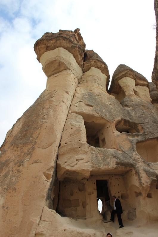 Пашабаг, Каппадокия. Тут жил Симеон Столпник