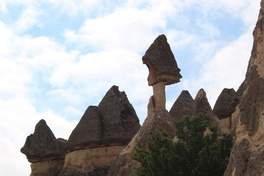 Причудливые каменные формы Пашабага, Каппадокия