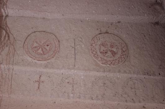 Церковь Балыклы, или Рыбная в музее Зельве, Каппадокия