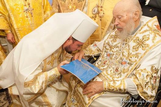 Возведение архиепископа Александра (Драбинко) в сан митрополита