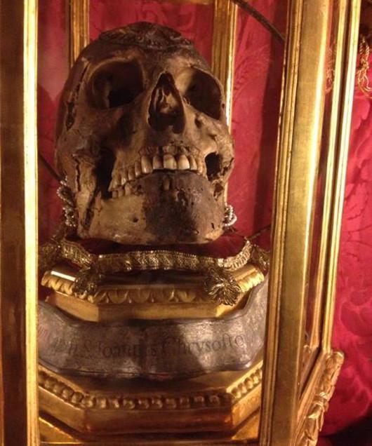 Глава Иоанна Златоуста во Флоренции