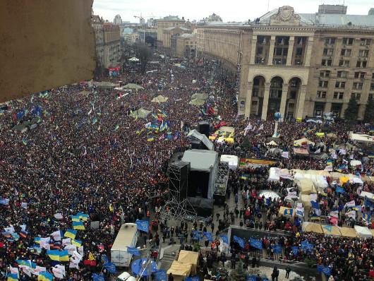 Протесты в Киеве 8 декабря 2013