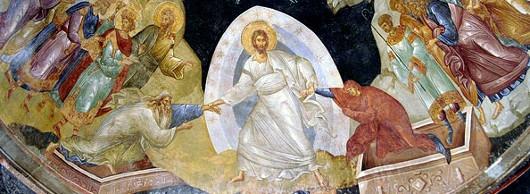 Сошествие во ад. Церковь монастыря Хора в Константинополе