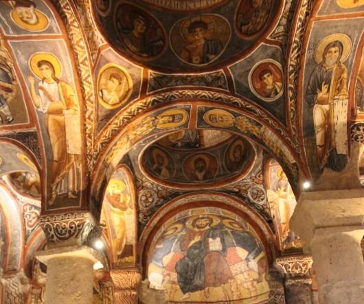 Темная церковь в Гереме