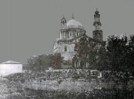 Ныне разрушенная церковь св. Василия Великого в Ургюпе