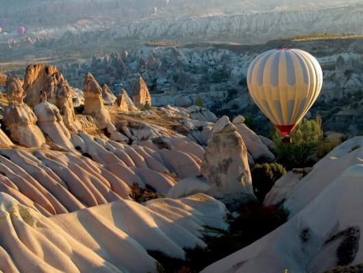 Полеты на воздушном шаре в Каппадокии