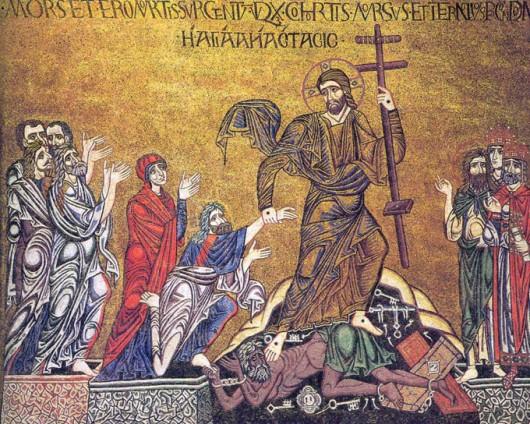 Сошествие во ад. Венеция, собор св. Марка