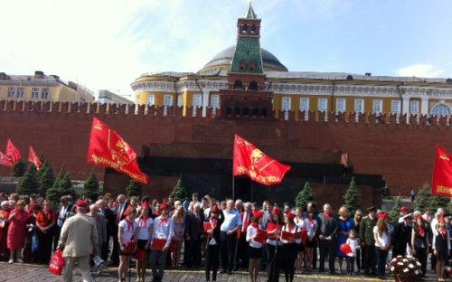 Прием в пионеры на Красной площади, 2012