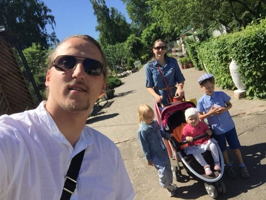 Отец Петр Боев с семьей