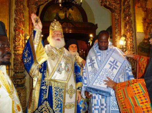 Папа и Патриарх Александрийский и всея Африки Феодор II совершил хиторонию епископа Кисумского и Западной Кении Афанасия (в миру — Амос Акунда Масаба)