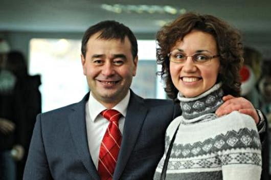 Юрий Лифансе и Юлия Коминко.  Фото: Православие в Украине