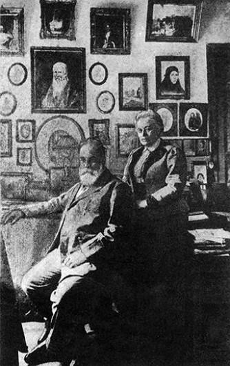 Сергей Нилус и Елена Александровна