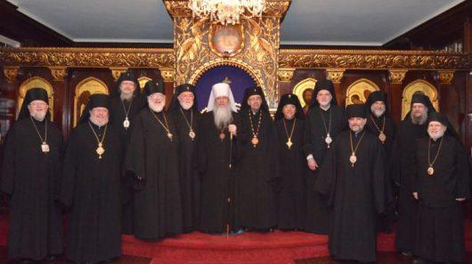 Священный Синод Православной Церкви в Америке.   Фото: oca.org
